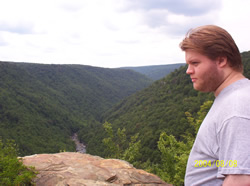 at Blackwater Falls, WV